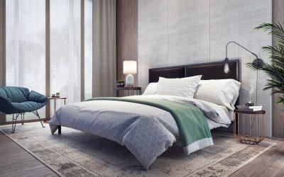 Osez les couleurs vives dans votre chambre à coucher